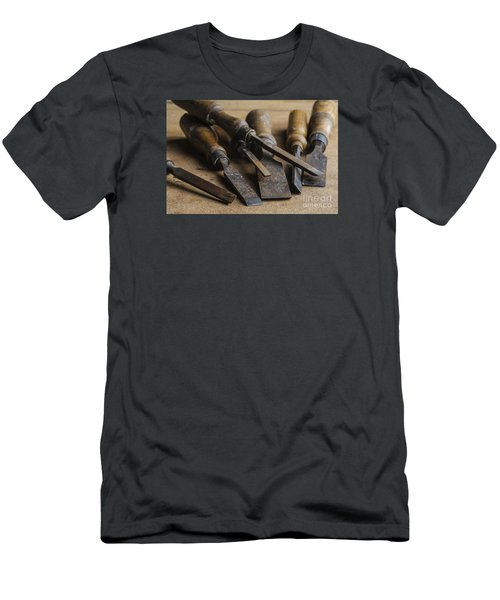 Chisels Men's T-Shirt (Slim Fit) by Trevor Chriss