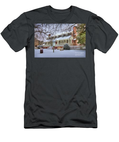 Christina Campbell Tavern Colonial Williamsburg Men's T-Shirt (Athletic Fit)