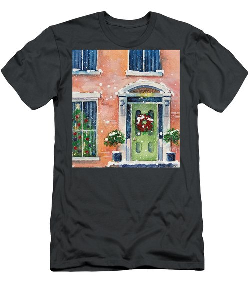 Christmas At The Rectory Men's T-Shirt (Athletic Fit)