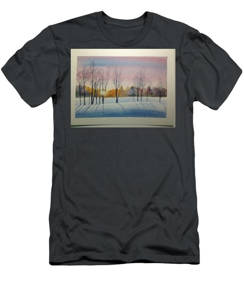 Christmas Card Men's T-Shirt (Athletic Fit)