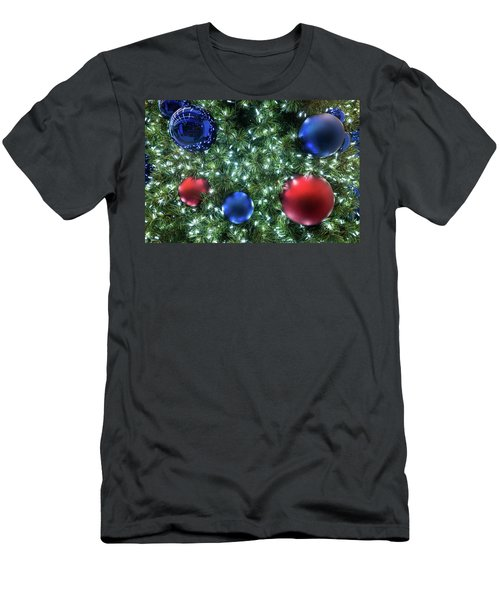 Men's T-Shirt (Athletic Fit) featuring the photograph Christmas Display 2 by M G Whittingham
