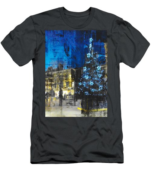 Men's T-Shirt (Athletic Fit) featuring the photograph Christmas Eve by LemonArt Photography
