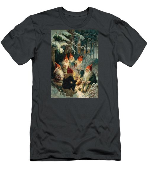 Christmas Gnomes Men's T-Shirt (Athletic Fit)