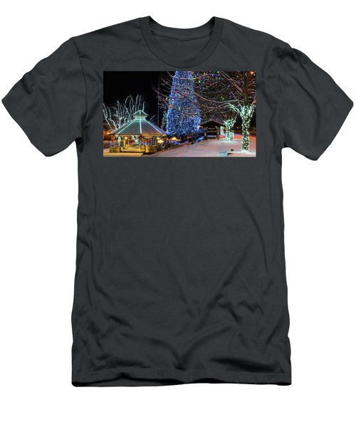 Men's T-Shirt (Slim Fit) featuring the photograph Christmas In Leavenworth by Dan Mihai