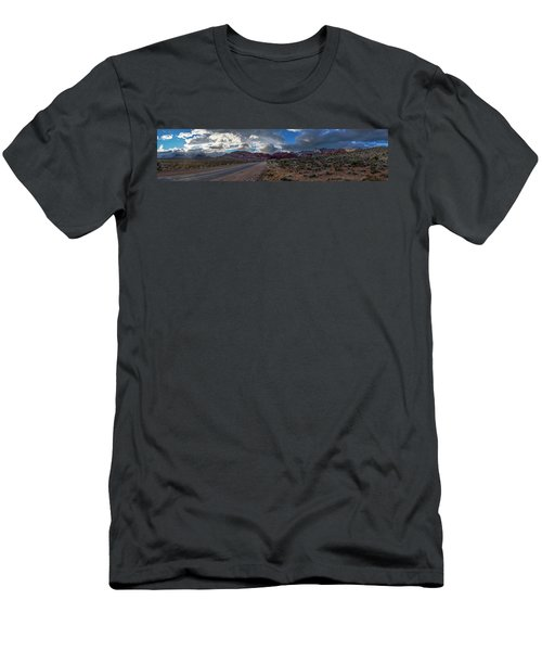 Christmas In The Desert Men's T-Shirt (Athletic Fit)