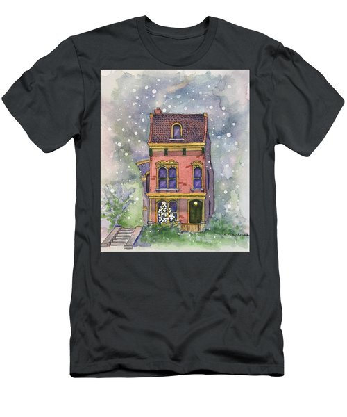 Christmas On North Hill Men's T-Shirt (Athletic Fit)