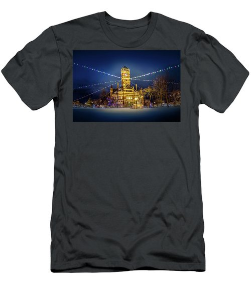 Christmas On The Square 2 Men's T-Shirt (Athletic Fit)