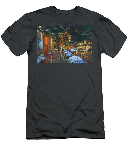 Christmas Reflections Men's T-Shirt (Athletic Fit)