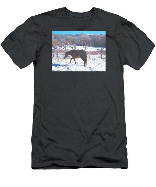 Christmas Roan El Valle I Men's T-Shirt (Slim Fit) by Anastasia Savage Ealy
