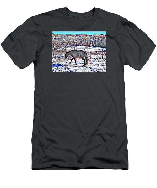 Christmas Roan El Valle II Men's T-Shirt (Slim Fit) by Anastasia Savage Ealy