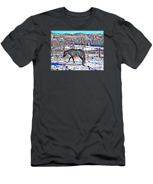 Christmas Roan El Valle II Men's T-Shirt (Athletic Fit)