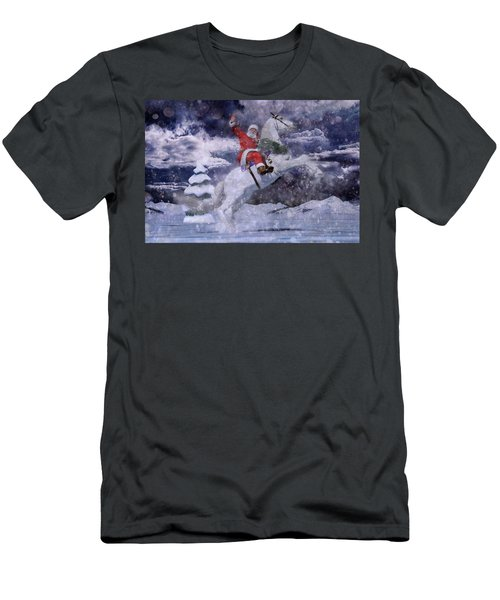 Christmas Spirit Men's T-Shirt (Athletic Fit)