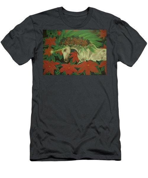 Christmas Star Men's T-Shirt (Athletic Fit)