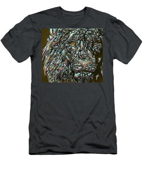 Chrome Lion Men's T-Shirt (Athletic Fit)