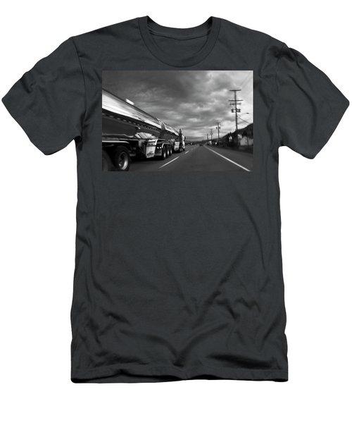 Chrome Tanker Men's T-Shirt (Athletic Fit)