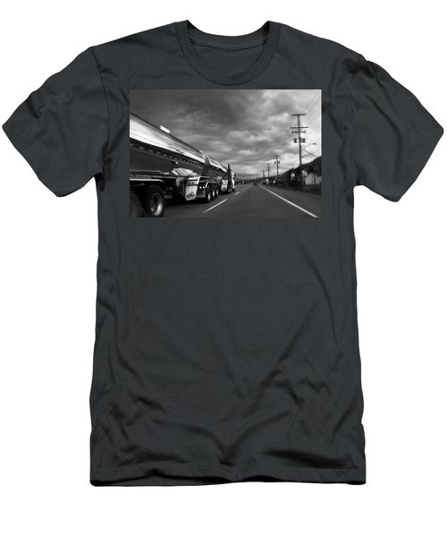 Chrome Tanker Men's T-Shirt (Athletic Fit)