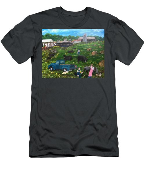 Chumhurst Farm Men's T-Shirt (Athletic Fit)