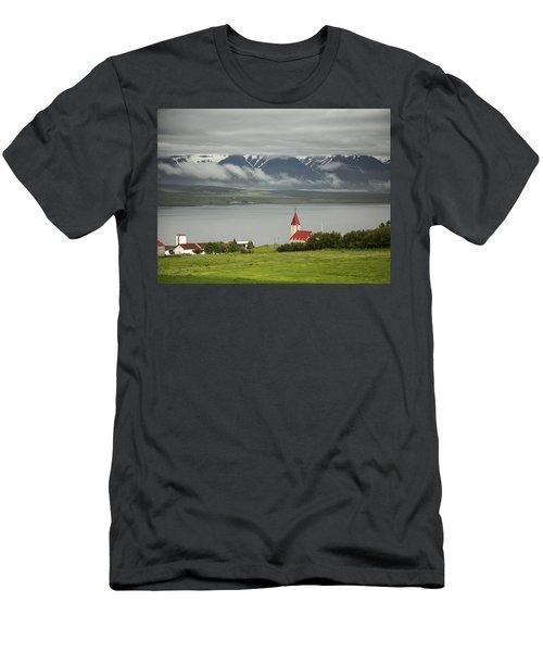 Church In Akureyri Men's T-Shirt (Athletic Fit)