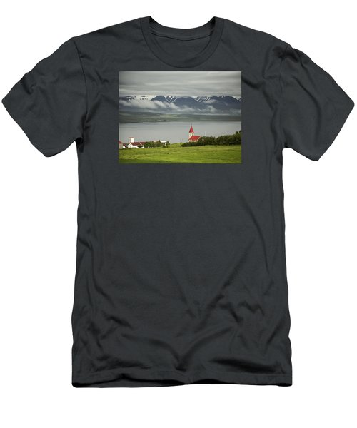 Church In Akureyri Men's T-Shirt (Athletic Fit)