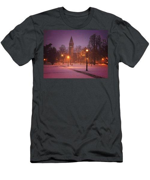 Church Sidewalk Men's T-Shirt (Athletic Fit)
