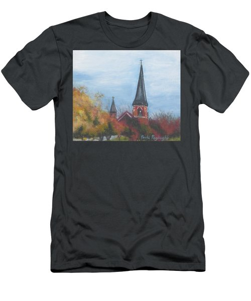 Church Steeple Men's T-Shirt (Athletic Fit)
