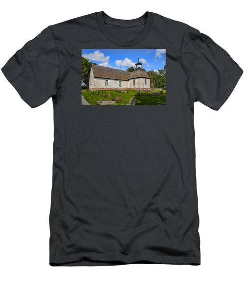 Men's T-Shirt (Slim Fit) featuring the photograph Church Teda Sw by Leif Sohlman