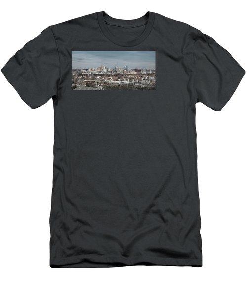 Cincinnati Panorama  Men's T-Shirt (Athletic Fit)
