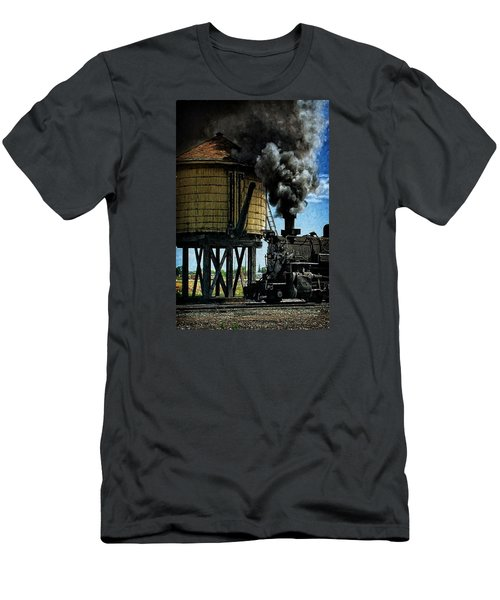 Men's T-Shirt (Slim Fit) featuring the photograph Cinders And Water by Ken Smith