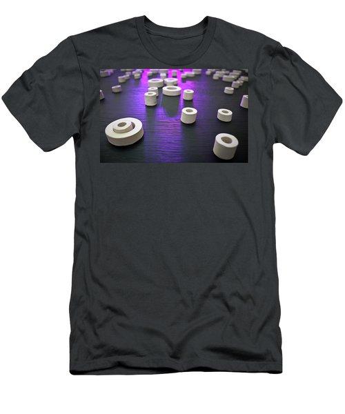 Circles Of Inspiration Men's T-Shirt (Slim Fit) by Bobby Villapando
