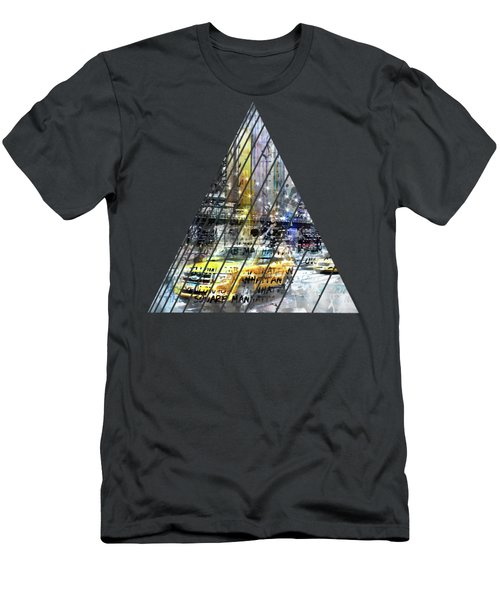City-art Nyc Collage Men's T-Shirt (Athletic Fit)