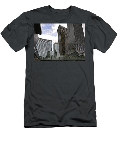 City Center At Las Vegas Men's T-Shirt (Athletic Fit)