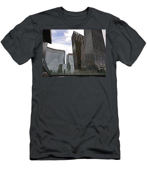 City Center At Las Vegas Men's T-Shirt (Athletic Fit)