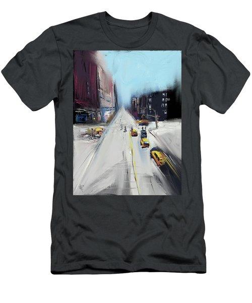 City Contrast Men's T-Shirt (Athletic Fit)