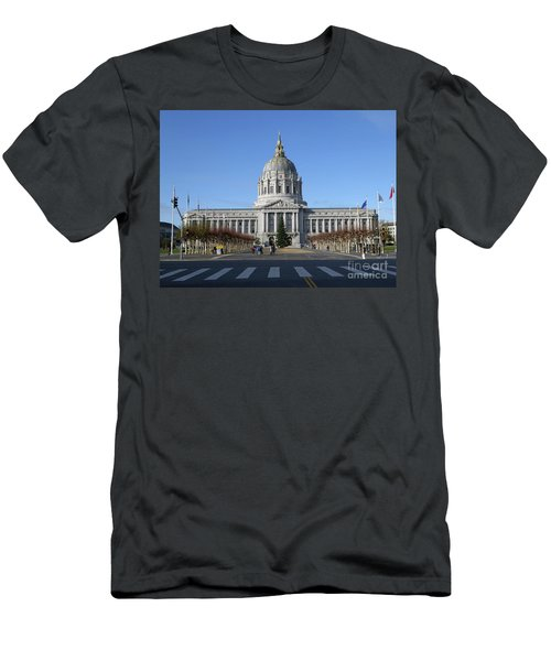 City Hall Men's T-Shirt (Athletic Fit)