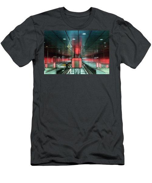 City Metro Station Hamburg Men's T-Shirt (Athletic Fit)