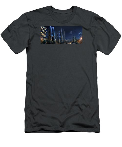 City Night Men's T-Shirt (Athletic Fit)
