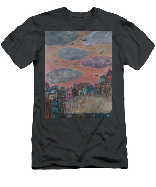 City Of Clouds Men's T-Shirt (Athletic Fit)