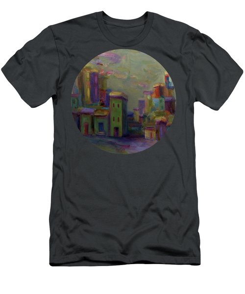 City Of Color And Light Men's T-Shirt (Athletic Fit)
