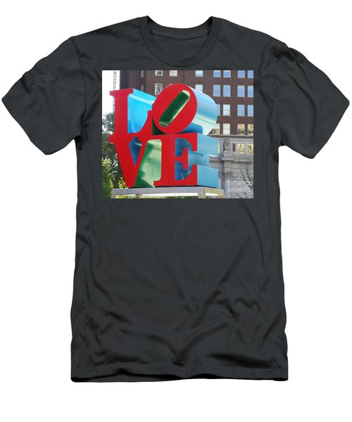City Of Love Men's T-Shirt (Athletic Fit)