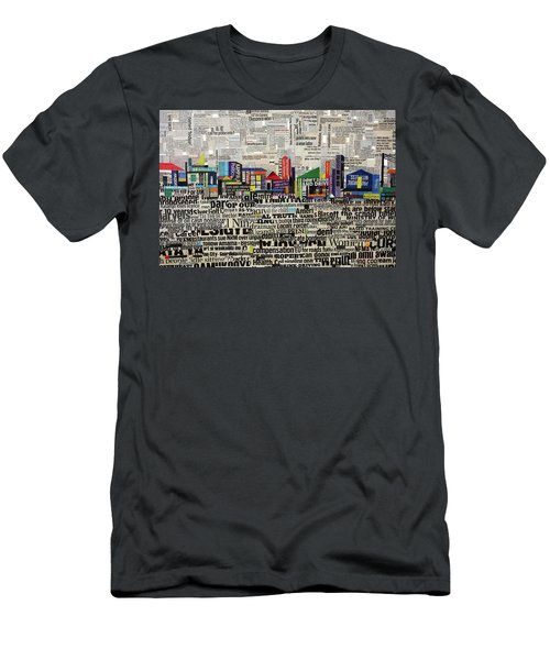 City Scape Men's T-Shirt (Athletic Fit)