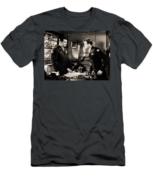 Clark Gable Appearing In Command Decision Men's T-Shirt (Athletic Fit)