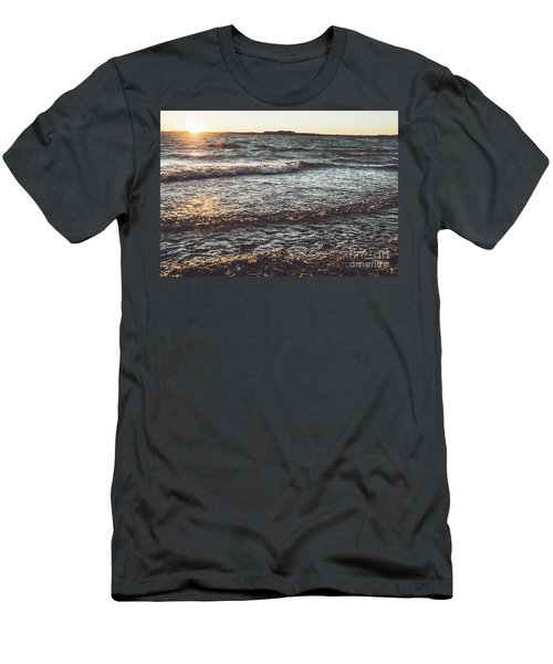Men's T-Shirt (Athletic Fit) featuring the photograph Clarks Hill Lake by Andrea Anderegg
