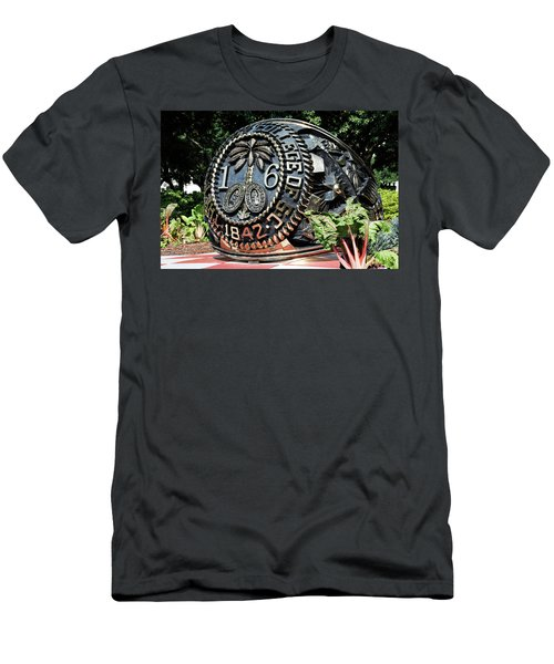 Class Ring Men's T-Shirt (Slim Fit) by Ed Waldrop