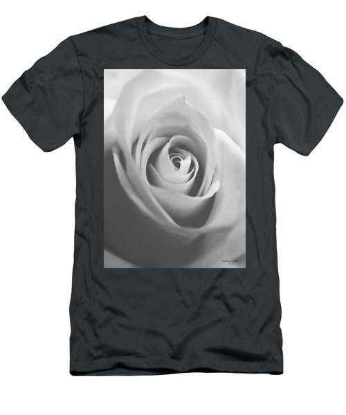 Classic Bw Rose Men's T-Shirt (Athletic Fit)