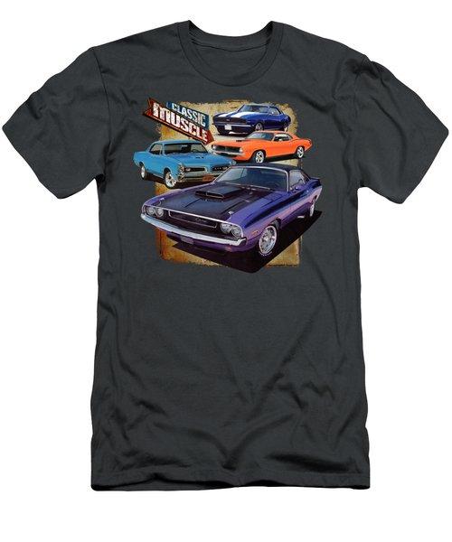 Classic Muscle Men's T-Shirt (Athletic Fit)