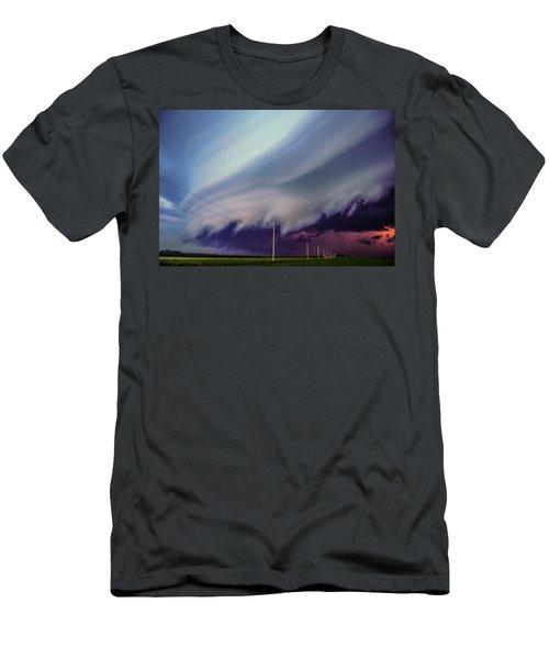Classic Nebraska Shelf Cloud 028 Men's T-Shirt (Athletic Fit)