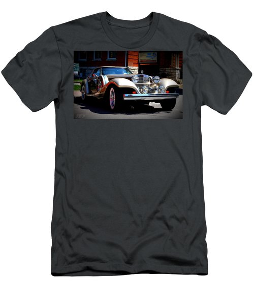 Men's T-Shirt (Slim Fit) featuring the photograph Classic Streets by Al Fritz