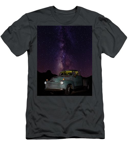 Classic Truck Under The Milky Way Men's T-Shirt (Athletic Fit)