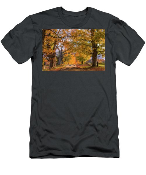 Classic Vermont Fall Men's T-Shirt (Athletic Fit)
