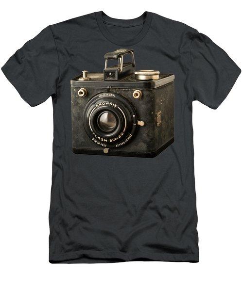 Classic Vintage Kodak Brownie Camera Tee Men's T-Shirt (Athletic Fit)